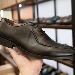 Giày tây buộc dây da bò thật GCS6D giá sỉ