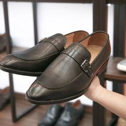 Giày tây loafer da bò thật GCS17 giá sỉ