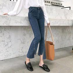 Jeans co giãn xéo lai giá sỉ