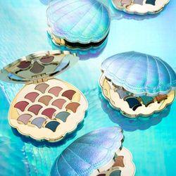 Bảng phấn mắt 14 màu hình vỏ sò lâu trôi và chống thấm nước cao cấp