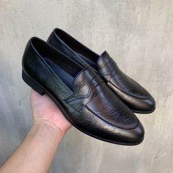 Giày lười nam da bò thật thời trang giá sỉ