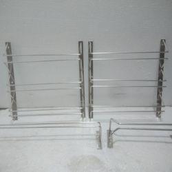 Giá Hủy Diệt Máng Treo Ly Inox - 093I3-AH