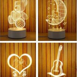 Đèn ngủ 3D nhiều hình