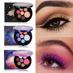 Bảng phấn trang điểm mắt gồm 7 màu chống thấm nước hiệu ứng lì giá sỉ