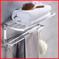 Giá treo khăn nhà tắm 2 tầng cao cấp giá sỉ