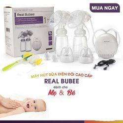 Máy hút sữa điện đôi Real Bubee giá sỉ