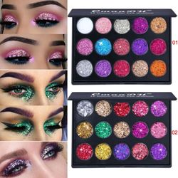 CMAADU 6 Màu long lanh Shimmer Matte Rainbow Diamond Eyeshadow Palette Trang điểm Mỹ phẩm Pallete