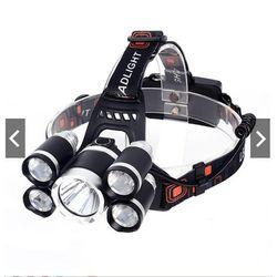 Đèn pin đội đầu siêu sáng - Đèn Pin Led Siêu Sáng Đội Đầu 3 Bóng Đen Nhiều Chế độ giá sỉ