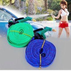 Khuyến mãi Vòi phun xịt nước rửa xe tưới cây đầu đồng dây dù 15m