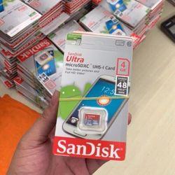 Thẻ nhớ 4Gb Sandisk - NHỎ giá sỉ