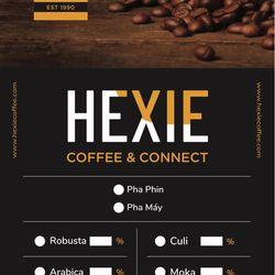 Cà phê hạt Espresso pha máy HEXIE ESPRESSO 1KG giá sỉ