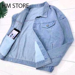 Áo khoác jean nam xanh trơn giá sỉ, giá bán buôn