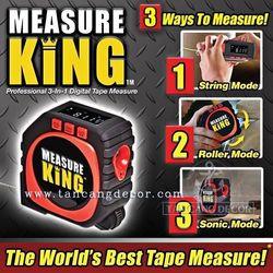 Thước đa năng kỹ thuật số Measure King 3-in-1 giá sỉ