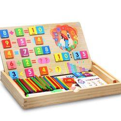 Hộp đồ chơi toán học giờ và phép tính giá sỉ