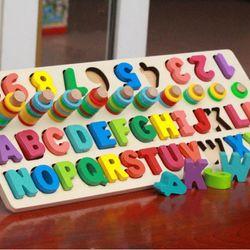 Thanh gỗ học đếm số và chữ giá sỉ