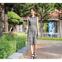 Đầm Dáng Suông Nhún Eo Linen Cao Cấp Mềm Mát 2123 giá sỉ