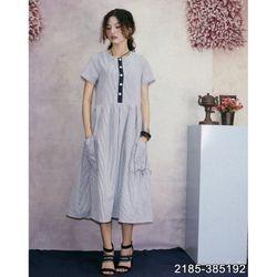 Đầm Kate Hàn Quốc Cao Cấp Mềm Mát 2185 - Xanh giá sỉ