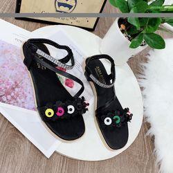 Giày sandal đính hoa giá sỉ