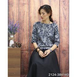 Áo Kiểu Vải Nhập Cao Cấp Mềm Mát 2124 giá sỉ