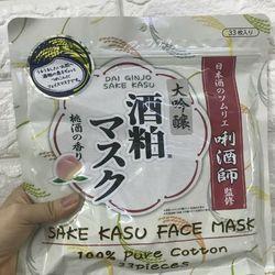 Mặt nạ rượu Sake Nhật bản gói 33 miếng