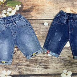 Quần jeans lửng săn lai bé trai giá sỉ tphcm giá sỉ