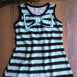 Dầm bé gái vải thun cotton có lót trong mặc ấm áp mùa Thu Xả hàng sỉ 33 k ri 1-8