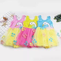 Đầm váy bơi cho bé gái 8-15kg