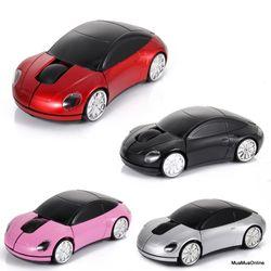 Chuột không dây hình xe hơi có đèn led giá sỉ