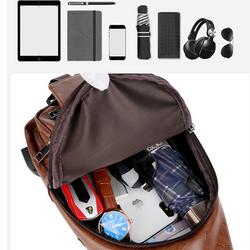 XẢ KHO Túi đeo chéo nam da cao cấp CLASSIC TẶNG KÈM cổng sạc USB và lỗ tai nghe tiện ích giá sỉ