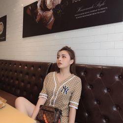 áo kiểu nữ đẹp kiểu hàn quốc dễ thương giá sỉ viền ren cài cúc BN 65832 Kèm Ảnh Thật giá sỉ