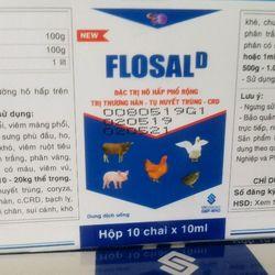 FLOSAL-D - Đặc trị bệnh Tổng hợp Hô hấp thương hàn Tụ huyết trùng giá sỉ