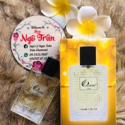 Nước hoa nam Charme iris 50ml new giá sỉ