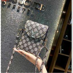 Túi đeo chéo điện thoại họa tiêt giá sỉ