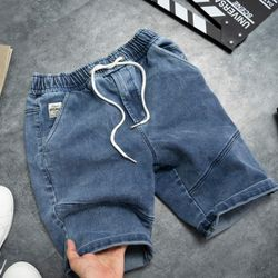 Quần short jean nam lưng thun - SN04 giá sỉ