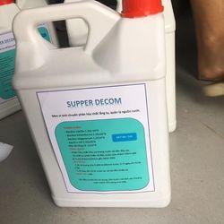 SUPPER DECOM - Men vi sinh chuyên phân hủy chất lắng tụ trong nuôi trồng thủy sản giá sỉ