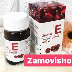 Viên uống Vitamin E - bổ sung cho cơ thể phụ nữ sau chu kỳ kinh cơ thể mệt da kém
