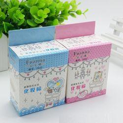 Bông Tẩy Trang Hộp Mini Fuanna 65 miếng 0126 giá sỉ