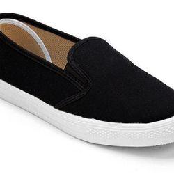 Giày nữ slip on vải trơn S171 giá sỉ