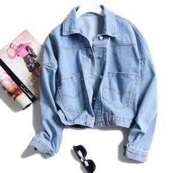 áo khoác jeans nút kiểu giá sỉ, giá bán buôn