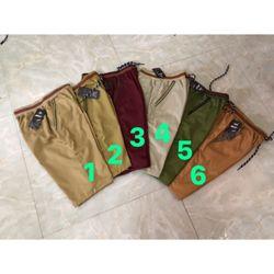 quần ngố kaki nam giá sỉ, giá bán buôn