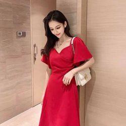 Đầm xoè xếp li Bigsize 65-80kg giá sỉ