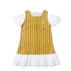 Đầm rớt vai bé gái