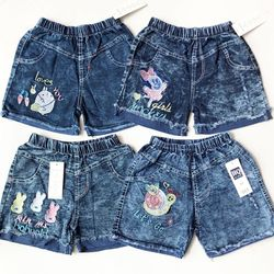 Quần short bé gái jeans size đại giá sỉ
