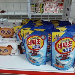 Bột tẩy vệ sinh lồng máy giặt Hàn Quốc 450g - giá sỉ