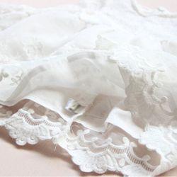Váy ren trắng tay loe điệu đà cho công chúa giá sỉ, giá bán buôn
