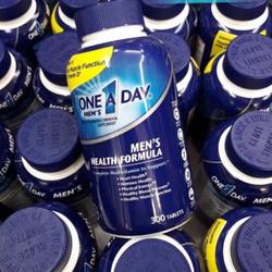 Thuốc Bổ Cho Nam Vitamin One A Day Men's Health Formula 300 viên của Mỹ giá sỉ