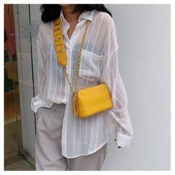 Túi đeo chéo AJ0IDR da cao cấp nhiều màu có VIDEO giá sỉ, giá bán buôn