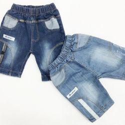 Quần jeans lửng bé trai size nhí giá sỉ
