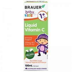 Brauer Baby Kids Liquid Vitamin C Cho Bé Trên 1 Tuổi - 100ml giá sỉ