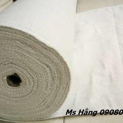 Vải ceramic cách nhiệt chống cháy 1260 độ C vải có sợi thép mỏng bên trong giá sỉ
